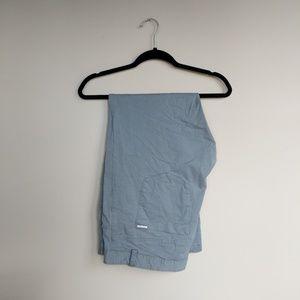 Calvin Klein Gray Dress Pant 38x30